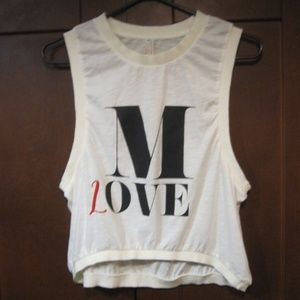 2/$30 Free People M Love tank Hi Lo   XS